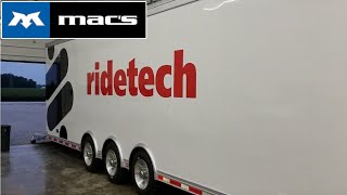 RideTech Motorsports Trailer Tour- Mac's Tie Downs