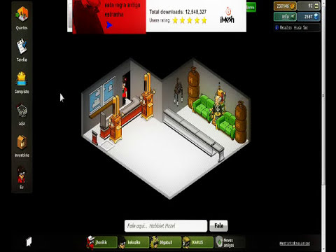 Como copiar visual de habbo no Habblet