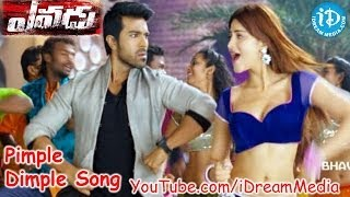 Yevadu Movie - Pimple Dimple Video Song || Ram Charan || Allu Arjun || Shruti Haasan || DSP