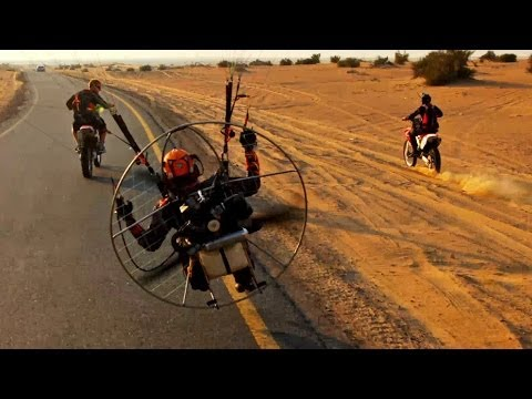 Dubai Paramotor - Behind The Scenes