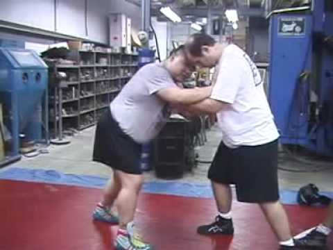 Tony Cecchine's American Catch Wrestling:  Principles of stand-up wrestling (take downs and shots) Image 1