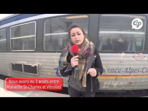 On a testé pour vous... le train-navette qui relie Marseille St-Charles à l'aéroport de Marignane