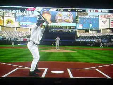 mlb 10 the Show Derek Jeter's 3,000th career hit