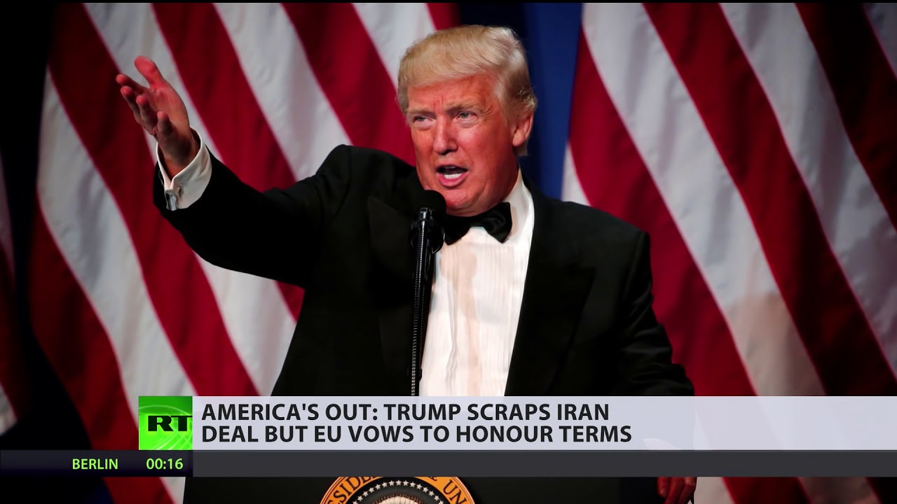 America's out: World reacts to Trump's decision to withdraw from Iran deal