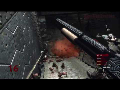 Call of Duty: World at War Nazi Zombies Der Riese 4-Player Strategy (Rounds 15-16)