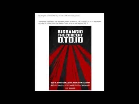 160630 Big Bang Confirms 10th Anniversary Concert Date