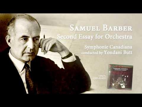 essays for orchestra samuel barber