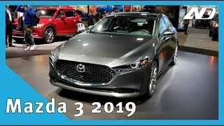 Mazda 3 2019 - Primer vistazo en México
