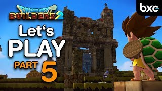 Hero in a HARD-SHELL! | Lets Play Gameplay Part 5 (DQB2 ENG Version)