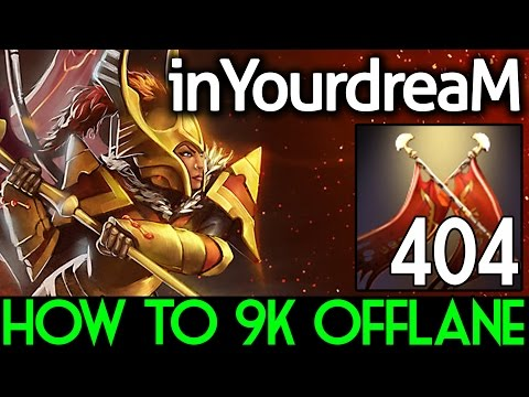 InYourdreaM Dota 2 [Legion Commander] How To 9k SEA Offlane