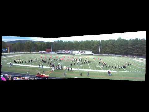 East Hall High School Marching Band Final Competition 09