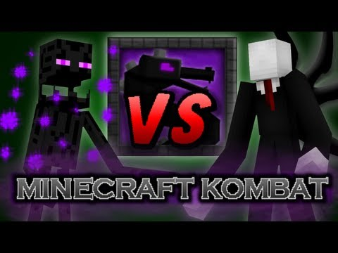 Minecraft Kombat - Slenderman vs Enderman