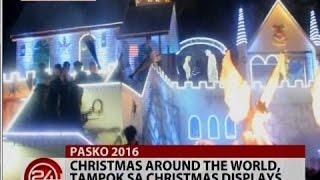 Christmas around the world, tampok sa Christmas displays sa Tangub City