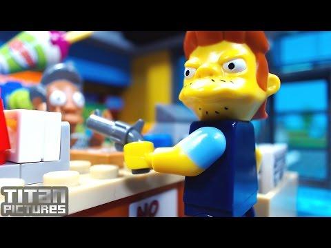 Lego Simpsons Shopping