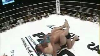 Fedor vs Crocop (Referee Camera HD)Part 2