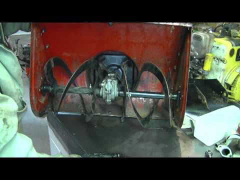 4HP Noma Snowblower Auger Gear Box Repair Part 2/3