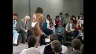Ms. Olympia Bodybuilder Rachel Mclish on 1984 Donahue Show