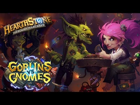Opening 40 packs of Goblins vs. Gnomes ► Hearthstone Expansion