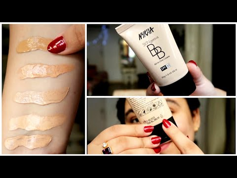 New NYKAA B.B.cream review (Delhi fashion blogger)