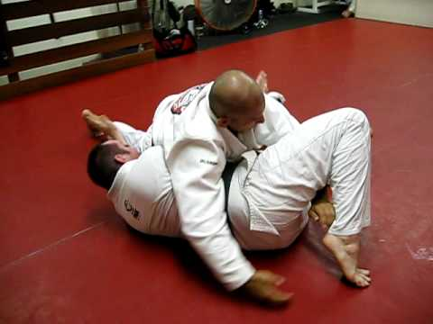 Open Guard Pass - Side Control - North south - Submission Image 1