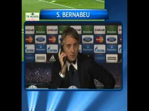 Real Madrid Maçı Sonrası Mancini Basın Toplantısı