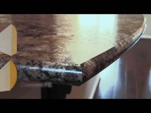 DIY Laminate Countertop And Bevel Edge Trim How To Save Money And Do ...