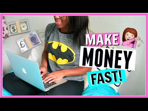 How To Make Money FAST for TEENS! | FionaBrianne