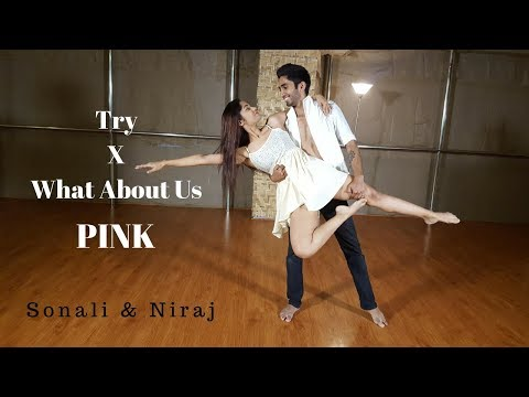 Try X What About Us | PINK | Contemporary Dance | LiveToDance with Sonali ft. Niraj Pardeshi