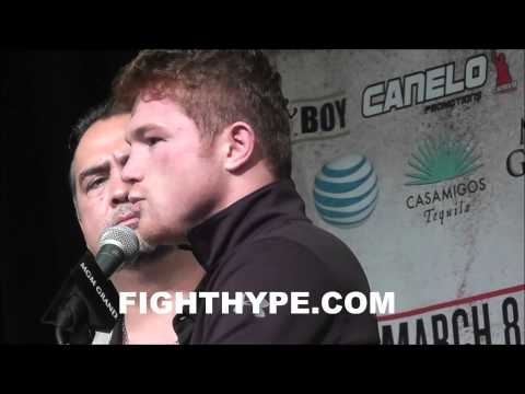 CANELO PLEASED WITH LESSONS LEARNED IN MAYWEATHER FIGHT THAT WAS A GREAT EXPERIENCE