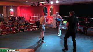 Cian Moore v Aaron Clarke - Deliverance Muay Thai/K1 Fight Night