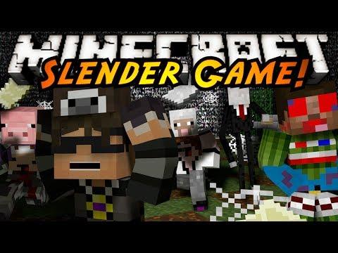 Minecraft Mini-Game : SLENDER?!