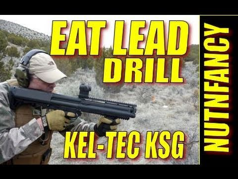 1 of 4, Kel-Tec KSG Shotgun First Shots: