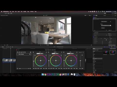 Create your own LUT's in Final Cut Pro X