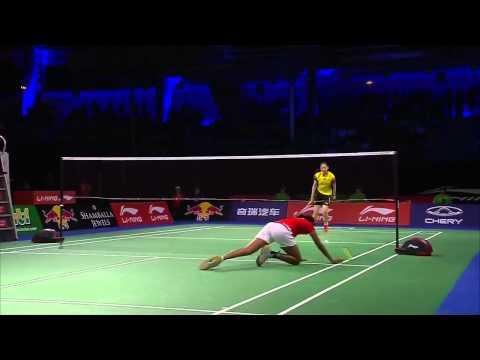 QF - 2014 BWF World Championships - P.V Sindhu vs Wang Shixian