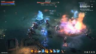 Lineage Eternal: Twilight Resistance Gameplay video (raid boss, party)