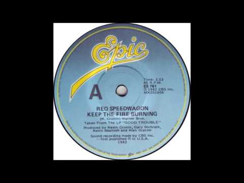 REO Speedwagon - Keep The Fire Burning - Billboard Top 100 of 1982
