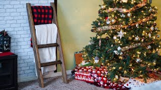 ($10 DIY Build) Blanket Ladder | The Best Way to Gift a Blanket or Quilt