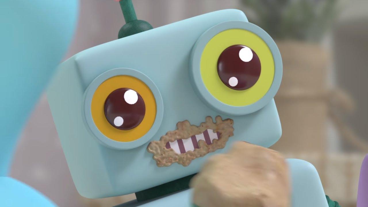 Малышарики - Новая серия - Бодрое утро (Серия 123) Развивающие мультики для самых маленьких