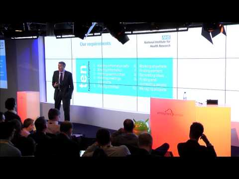 Atmosphere London 2014 - Peter Knight - National Institute for Health Research