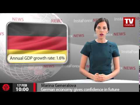 German economy gives confidence in future