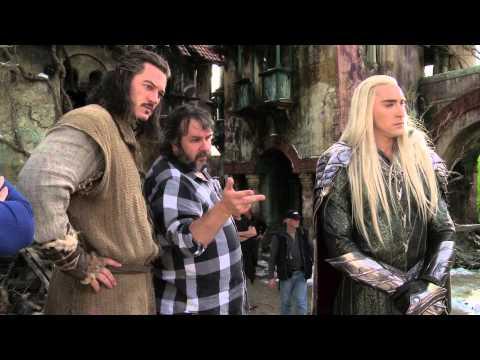 El Hobbit: La Batalla de los Cinco Ejércitos - Vídeo del rodaje (Broll) en Full HD