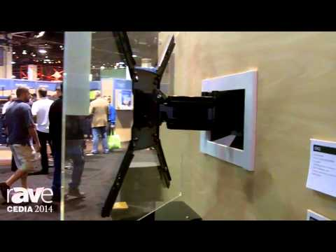 CEDIA 2014: OmniMount Introduces the OE120IW In-Wall Cantilever Mount