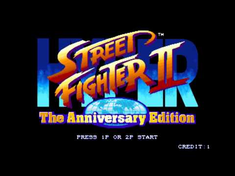 Hyper Street Fighter II - CPS2 - Guile Theme (HD)
