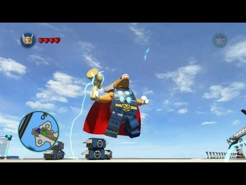 LEGO Marvel Super Heroes - Beta Ray Bill Free Roam Gameplay (DLC Super Pack)