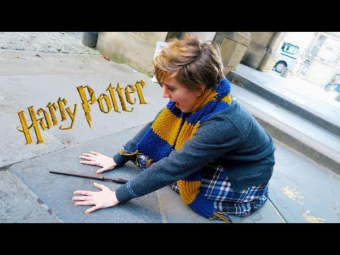 Harry Potter Things To Do In Real Life IN SCOTLAND ft. Brizzy Voices (Part 1: Edinburgh)