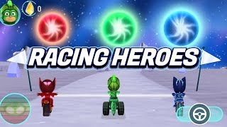 PJ Masks Games | PJ Masks Racing Heroes - New App Game - Gekko Gameplay | Game for Kids