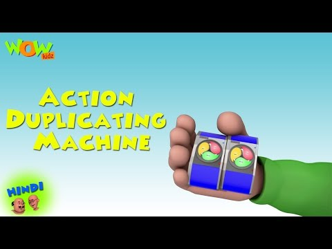 Action Duplicating Machine - Motu Patlu in Hindi WITH ENGLISH, SPANISH & FRENCH SUBTITLES thumbnail