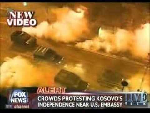 Fox news - US Embassy Belgrade