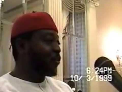 Imam Abou Samassi est arrivé à New York 1999.