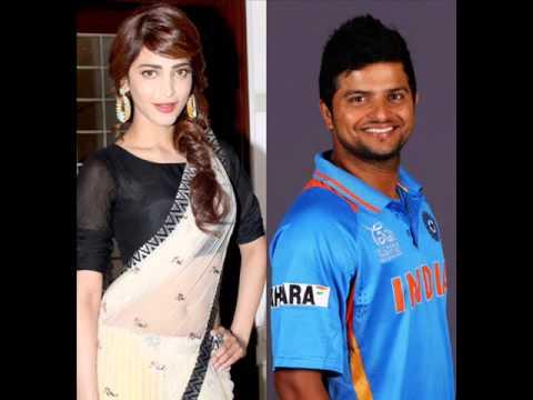 Shruti Haasan Dating Suresh Raina ? - YouTube